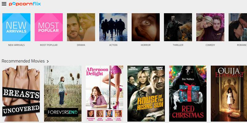 popcornfli- sites like putlocker