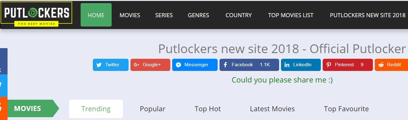 putlocker alternatives 2018