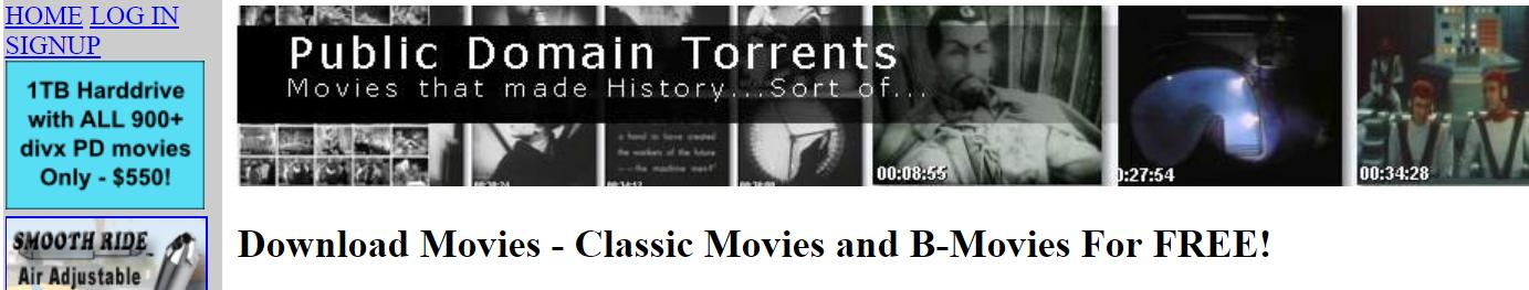 Public Domain Torrent