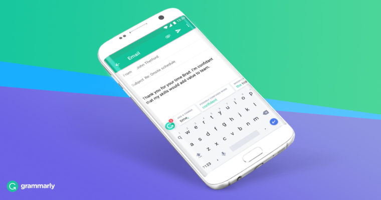 grammarly keyboard for android