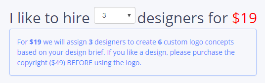 Logo Development Pricing