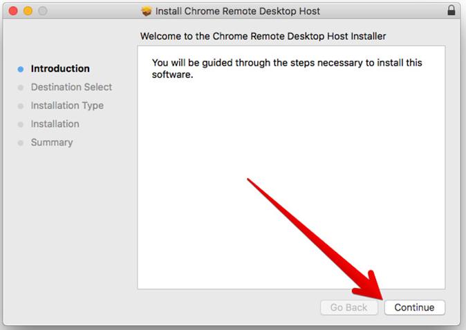 remote desktop host installation