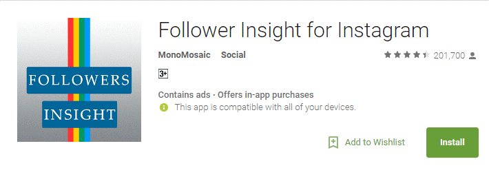 Follower Insight App