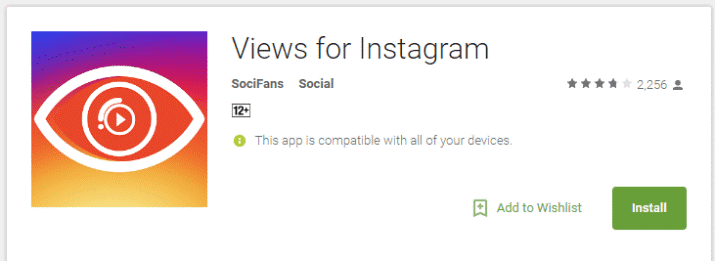 Views for Instagram App