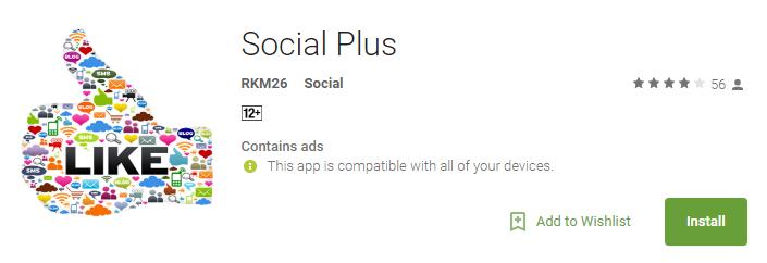 social plus app