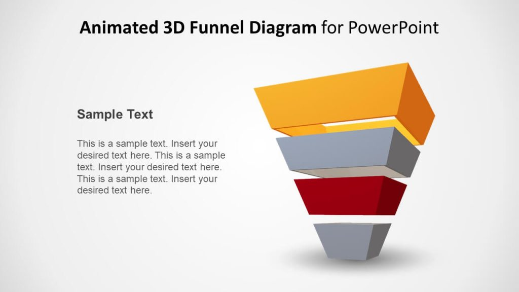 animated funnel diagram powerpoint