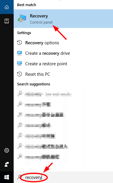 computer recovery
